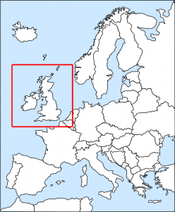 Europe Inset Map