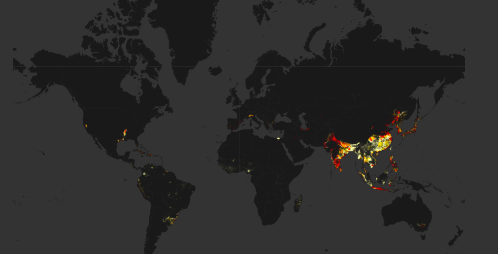 Amazing Global Agriculture Maps Farming Visualized GIS Geography - Free find us map header