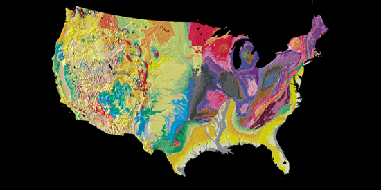 USGS Tapestry of Time Geology Maps