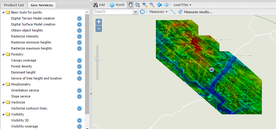 lidar online screenshot
