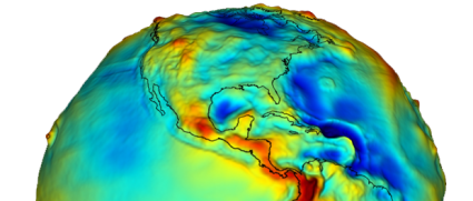 Geoid NASA Grace Mission