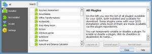 QGIS Plugin Repository