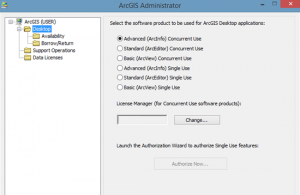 ArcGIS Administrator