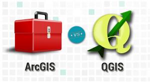 ArcGIS vs QGIS