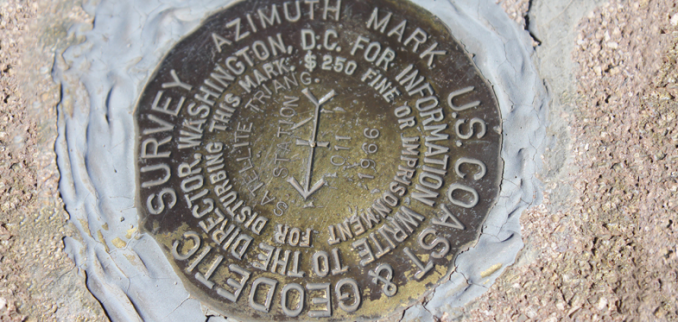 Survey Benchmark Monument Locations Geocache History GIS Geography - Altitude and longitude finder