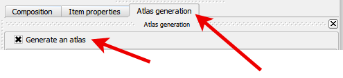 QGIS Atlas Generation