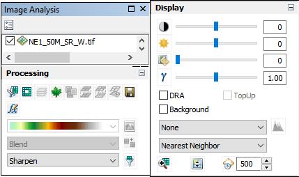 Image Analysis Toolbar
