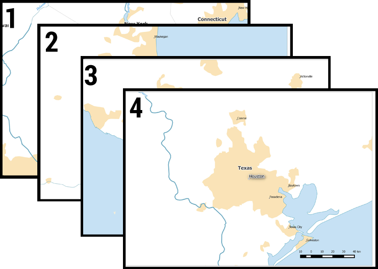 How to Create QGIS Atlas Mapbooks  GIS Geography