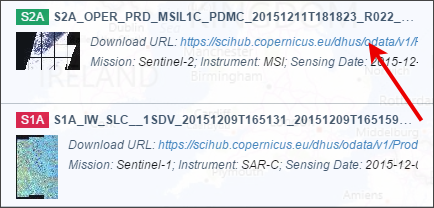 Product Download Sentinel