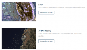 DigitalGlobe Product Samples