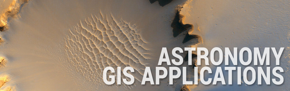 Astronomy GIS Applications