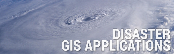 Disaster GIS Applications