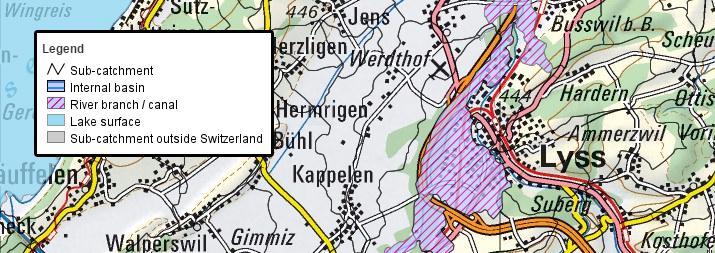 SwissTopo Map