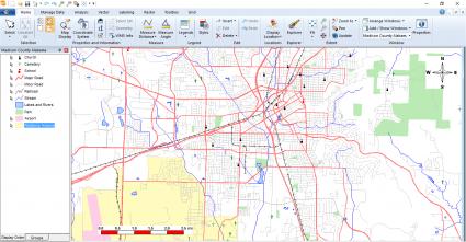 Geomedia Map Window