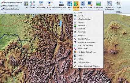 Geomedia-Surface-Tools