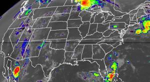 NOAA Weather Map
