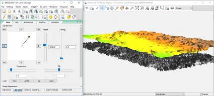 GRASS GIS 3D