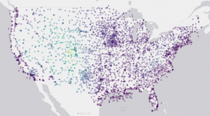 continental us weather stations