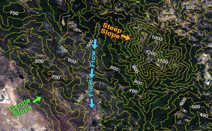 Napa Valley Contours
