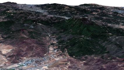 Collayomi Valley 3D
