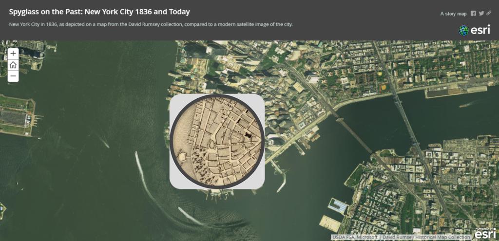 new york history map