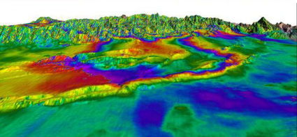 Radar Interferometry InSAR Terrain Displacement