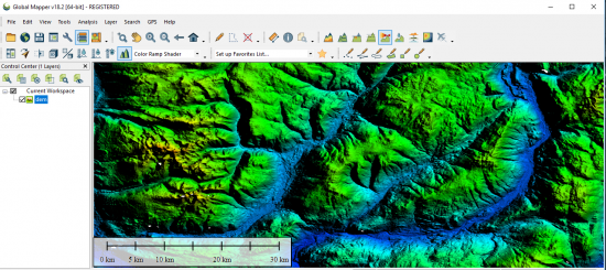 Global Mapper Software By Blue Marble GIS Geography - Dem global