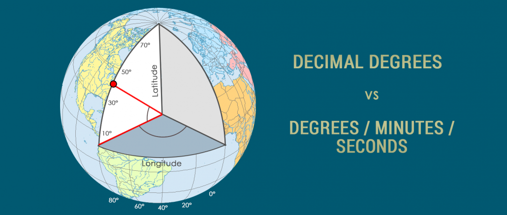 Decimal Degrees DD Degrees-Minutes-Seconds DMS