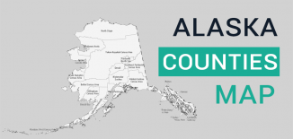 Alaska County Map Feature