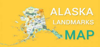 Alaska Landmarks Map Feature