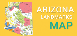 Arizona Landmarks Map Feature