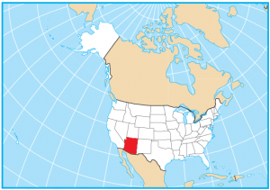 Arizona Map Extent