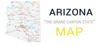 Arizona Map Feature