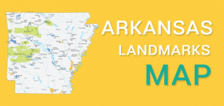 Arkansas Landmarks Map Feature