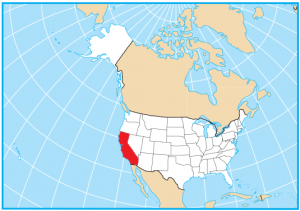 California State Map Extent