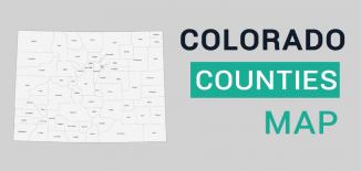 Colorado County Map Feature