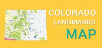 Colorado Landmarks Map Feature