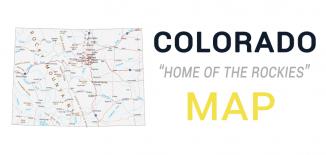 Colorado Map Feature