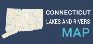 Connecticut Lakes Rivers Map Feature