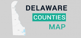 Delaware County Map Feature
