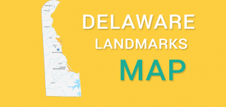 Delaware Landmarks Map Feature