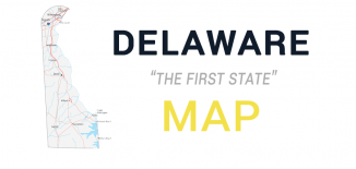 Delaware Map Feature