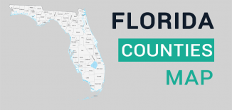 Florida County Map Feature