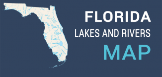 Florida Lakes Rivers Map Feature
