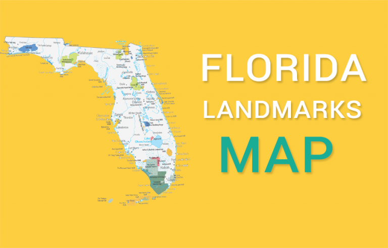 Florida State Map – Places and Landmarks