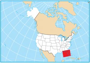 Florida Map Extent