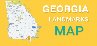 Georgia Landmarks Map Feature