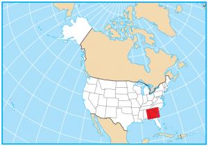 Georgia Map Extent