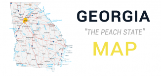 Georgia Map Feature