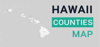Hawaii County Map Feature